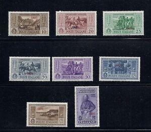 Italie Aegean Îles Caso 1932 Garibaldi Ensemble (8 Valeurs Seulement) VF MH