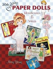 20th Century Paper Dolls by Mary Young 2005 UK Paperback Illustrated Values
