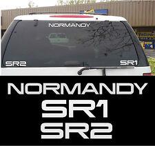 Mass Effect - Normandy SR1 & SR2 Sticker/Decal Pack