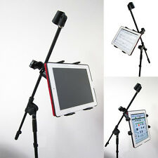 """ChargerCity Heavy Duty 7""""-12"""" Screen Size TABLET iPad Microphone Mic Stand Mount"""