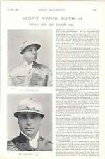 1896 Horse Race Jockeys Winning Mounts Calder Colling Steeplechaser Horizon