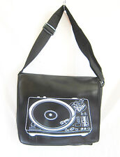 Retro messenger/gym/holdall/sports bag/record player