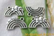 50pcs Tibetan Silver rainbow bridge charms FC1508