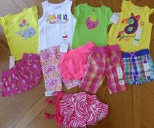 18 month Girl NEW Summer clothes LOT $143 rv Shorts Top Swimsuit Mix & Match NWT