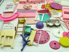 LARGE LOT OF MATTEL BARBIE FURNITURE REPLACEMENT PARTS 50+