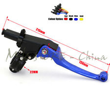 Alloy ASV F3 2nd Long Clutch Folding Lever Racing Motorcycle Pit Dirt Bike IRBIS
