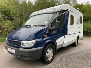 Hymer Van 522 3 berth rear fixed bed large garage motorhome for sale