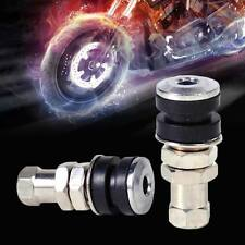 2pcs Tire Wheel Valve Tubeless No Tube Stem for Motorcycle Car Bike ATV Bicycle