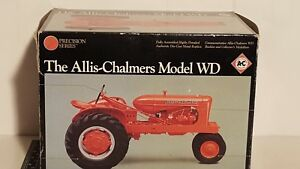 Ertl Allis Chalmers WD 1/16 diecast metal farm tractor replica collectible