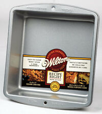 Wilton  8 in. W x 8 in. L Nonstick Surface Steel  Square  Cake Pan