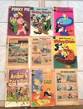 Vintage Walt Disney And Archie Comic Book Collection