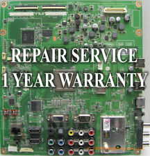 Mail-in Repair Service For LG 42LD650 Main Board 1 YEAR WARRANTY