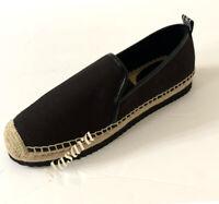 Women MK Michael Kors Debbie Espadrille Slip On Sneaker Black