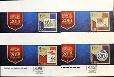 Russia RUSSIA 2016 blocco 231 FIFA Calcio WM SOCCER WORLD C. 2018 FOOTBALL FDC