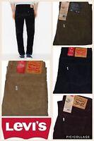 Levi's Men's 514 Straight Fit Corduroy Pants All Sizes All Colors