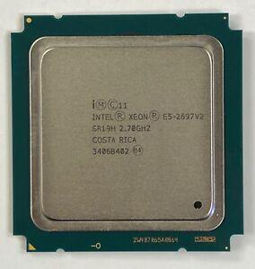 Intel Xeon E5-2697 V2 2.70GHz (SR19H) Twelve-Core Processor CPU