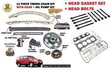 pour Honda CRV 2.0 2001> Kit chaîne distribution + POMPE À HUILE KIT +