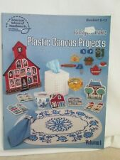 Plastic Canvas Projects Booklet- Easy To Make