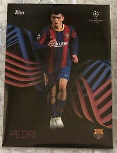 Topps UEFA Champions League Knockout Pedri FCB OnDemand Card