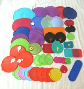 Large Lot of (50) Assorted TUPPERWARE Replacement Seals