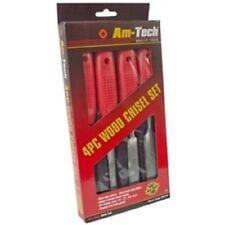 E0750 4 pezzi legno set scalpelli da Am-Tech retail PREZZO