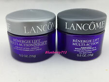 Lot of 2: Lancome Renergie Lift Multi-action Day & Night Cream 15g*2=30g / 1 oz