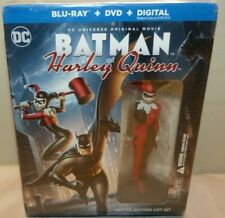 Batman and Harley Quinn Blu-ray+DVD - Limited Edition Gift Set - New Sealed