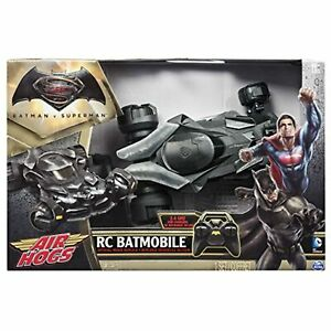 Air Hogs, Batmobile Remote Control Vehicle From~Dawn Of Justice Movie Replica