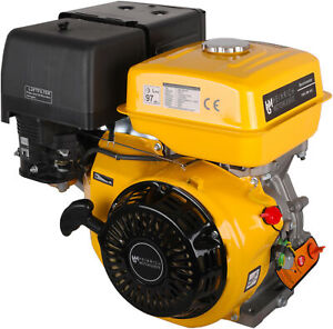 Benzinmotor HMG-BM-460 Kartmotor 16,0 PS Standmotor Motor Industriemotor