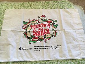 Santa Claus And Elves Pajama Party Pillow Case