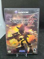 Shadow the Hedgehog (Nintendo GameCube, 2005) Black Label Complete Tested