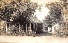 C29/ Houghton Lake Michigan Mi Real Photo RPPC Postcard 1937 Shore Line Resort