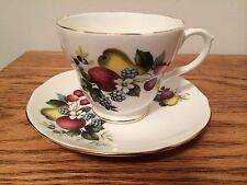 Duchess Bone China Tea Cup and Saucer 384 Fruit