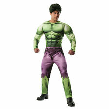 Mens Deluxe The Hulk Muscle Chest Costume Size Std 42-46