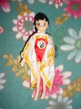 Rare-Htf-Cardcaptors-CLAMP-ET-Al-Black Hair Big Brown Eyes Warrior Sakura Doll