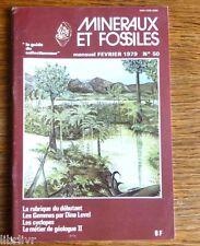 Minéralogie  REVUE MINERAUX ET FOSSILES N° 50   - Les gemmes - Les Cyclopes