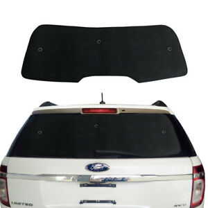 Fit For Ford Explorer 2011-2019 Rear Windshield Black Interior Privacy Cover
