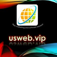 usweb.vip premium domain name for sell VALUABLE DOMAIN BEST CHANCE