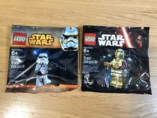 🔹 Sellado 🔹 Lego Star Wars Minifigura polybags Paquete Colección 🔹 2X/Exclusivo 🔹