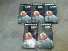 Memorex super high quality video tapes