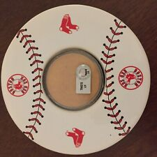 4 Boston Red Sox Infield Clay Drink Coasters Authenticated
