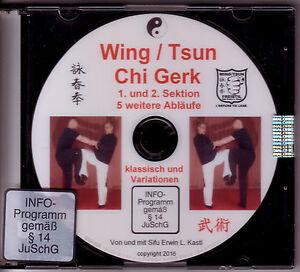 DVD  Wing / Tsun Chi Gerk Beintechniken Tritte Beinhebel Abwehren