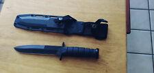 KA-BAR 1273 Bob Dozier KBD1 Fixed Blade Combat Knife Discontinued RARE!!