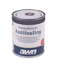 AWN Selbstpolierendes Antifouling 2,5Liter Schwarz für Holz Gfk Stahl