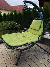 Leco für 2 Personen Schwingliege Gartenliege Liege Sonnensegel Sonnenliege