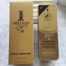 One 1 Million By Paco Rabanne 3.4oz 100ml Cologne EDT French Men's Perfume Spray