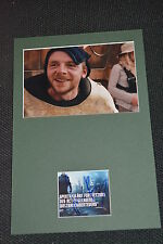 SIMON PEGG signed Autogramm In Person Passepartout STAR WARS Force Awakens
