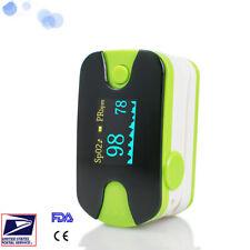 Finger Tip Pulse Oximeter Oximetery SPO2  PR Monitor Audio Alarm Lanyard  US