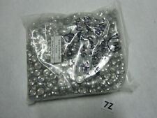 """1000  Brass Fly Tying Coneheads Nickel  Silver - Large - 9MM  3/8"""""""