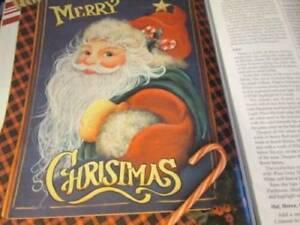 Tole World August 1994 Magazine-Santa/Cat/Bavarian Heart/Morning Glories/English
